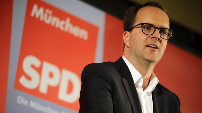 Markus Rinderspacher bei Dreikönigstreffen der SPD München, 2016