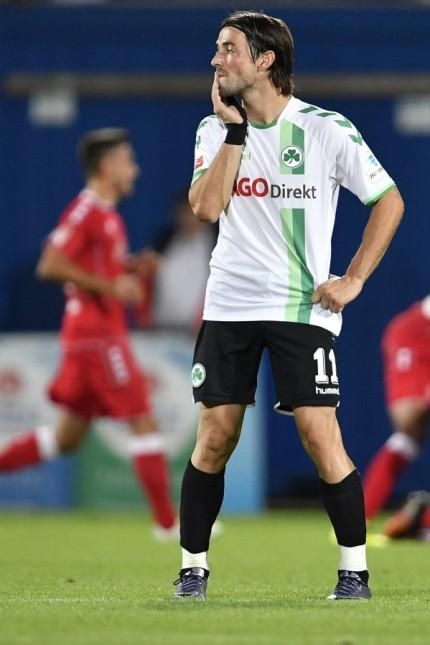 16 09 2016 Fussball Saison 2016 2017 2 Fussball Bundesliga 05 Spieltag SpVgg Greuther F