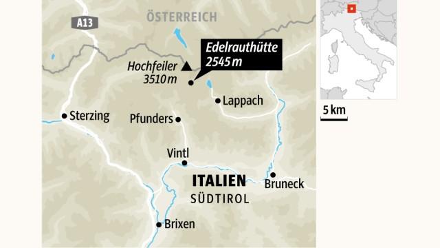 Südtirol Neue Hütten in Südtirol