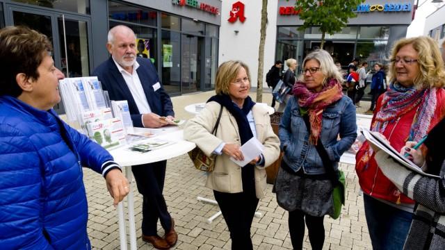 Infostand zum Alzheimertag in E-EinZ Passage