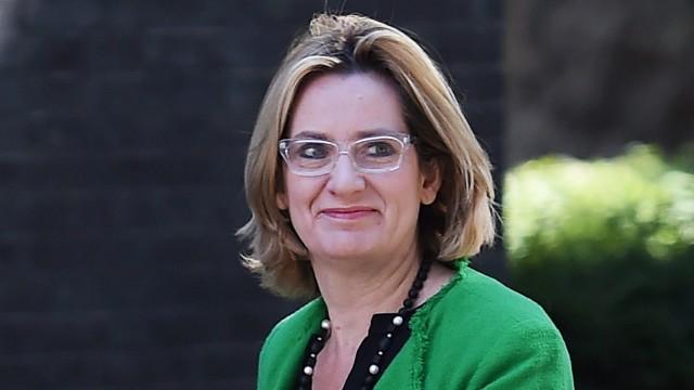 Amber Rudd is due to meet French Interior Minster Bernard Cazeneu
