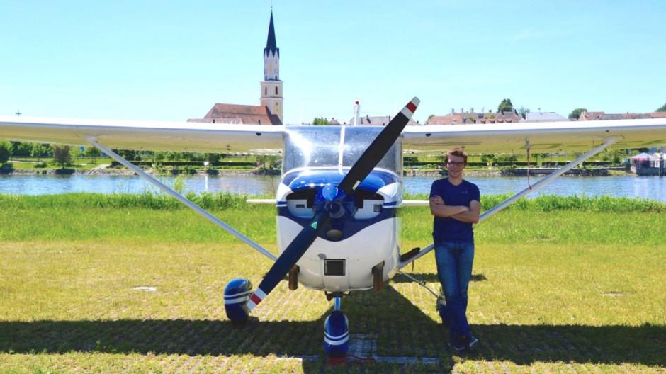 Raum- und Luftfahrt Rundflüge