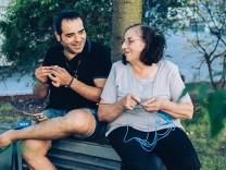 Waseem aus Syrien und seine Mutter