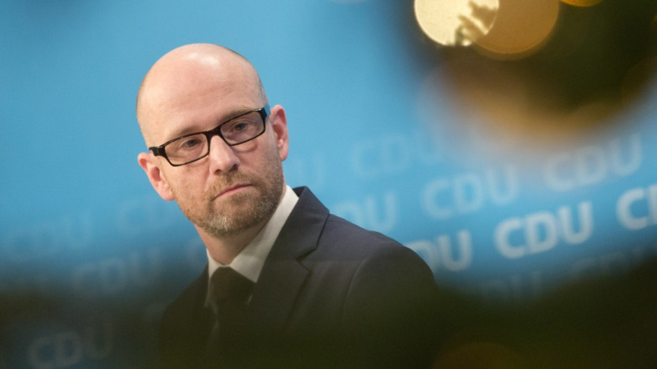 CDU-Pressekonferenz zum Bundesparteitag