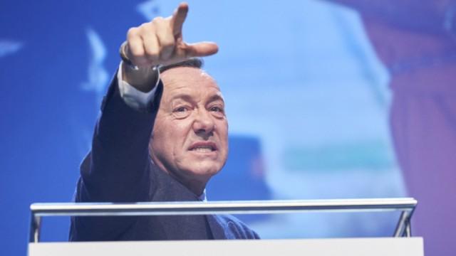 Kevin Spacey Auftritt in München