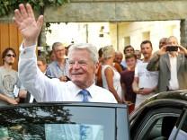 Bürgerfest des Bundespräsidenten Joachim Gauck