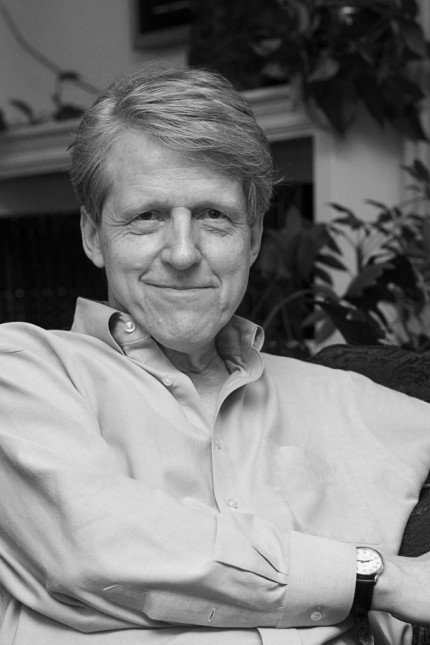 Robert Shiller, one of three American scientists who won the 2013 economics Nobel prize, poses at his home in New Haven; Robert Shiller, one of three American scientists who won the 2013 economics Nobel prize, poses at his home in New Haven