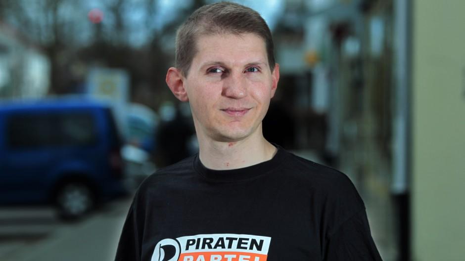 GERMERING: RONALD TRZOSKA - Vorsitzender Piratenpartei