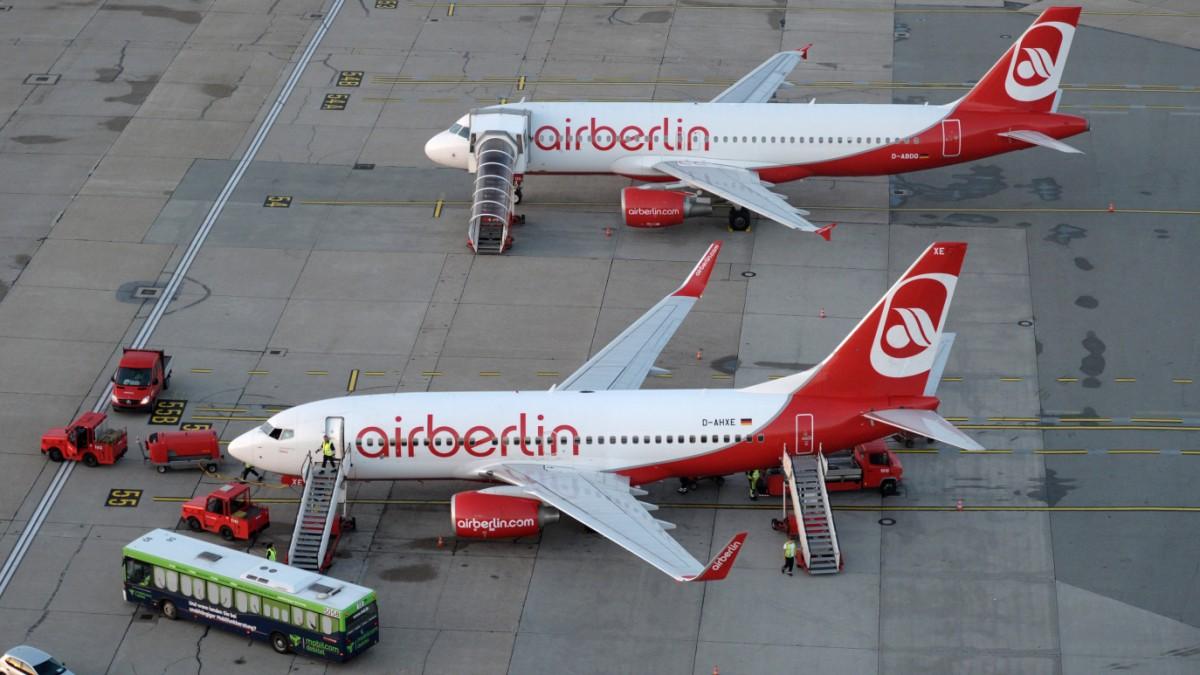Air Berlin wird aufgespalten