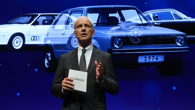 VW, Matthias Müller