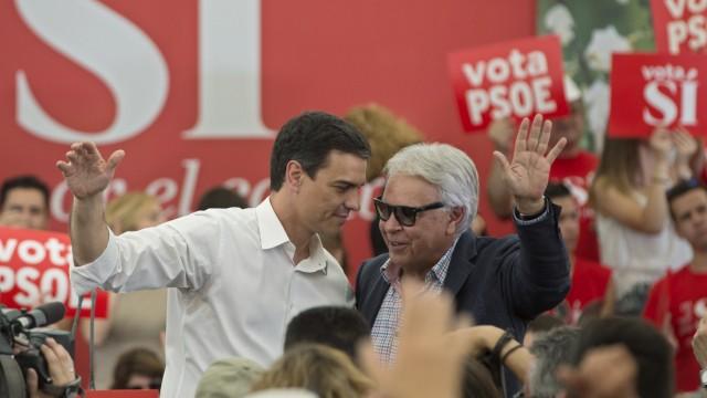 Pedro Sanchez, Felipe Gonzalez