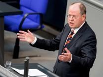 Bundestag - Letzte Rede von Peer Steinbrück