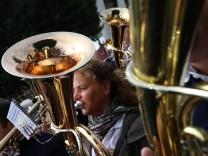 Standkonzert auf dem Münchner Oktoberfest, 2015