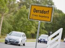 Oersdorf - Ortsschild