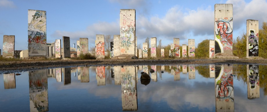 Teile der Berliner Mauer
