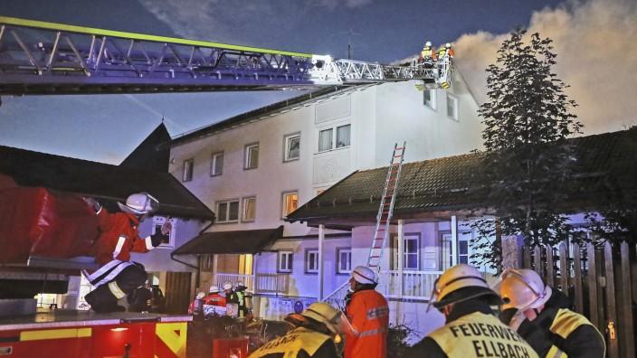 Brand Feuer Salzstraße