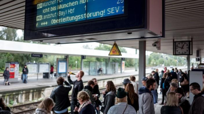 Freisinger Bahnhof