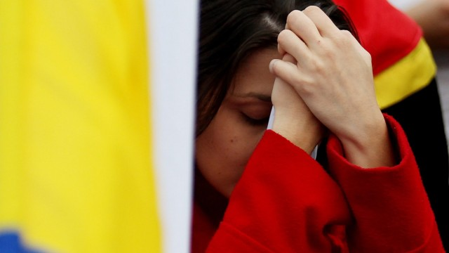 Colombians vote 'no' on peace deal
