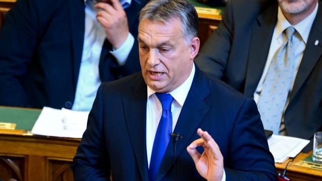 Viktor Orban Referendum in Ungarn