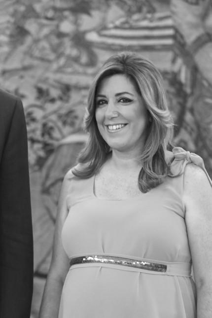 King Felipe VI of Spain Meets Susana Diaz; Susana Díaz