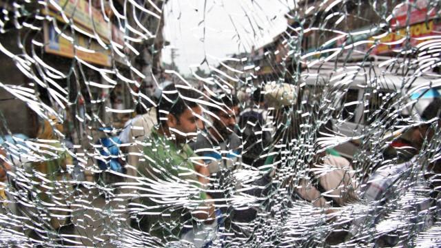 Kaschmir Proteste in Kaschmir