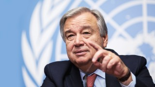 151009 GENEVA Oct 9 2015 United Nations High Commissioner for Refugees UNHCR Antonio Gu