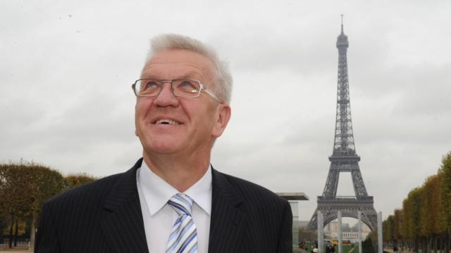 Winfried Kretschmann in Paris