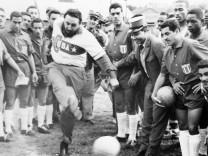 Fidel Castro Kicking Soccer Ball