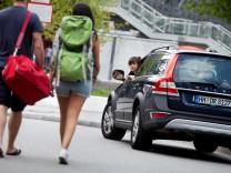 Thema Mitfahren Ð Ende des Autos. Mitfahrzentrale Carpooling. Mitfahrgelegenheit