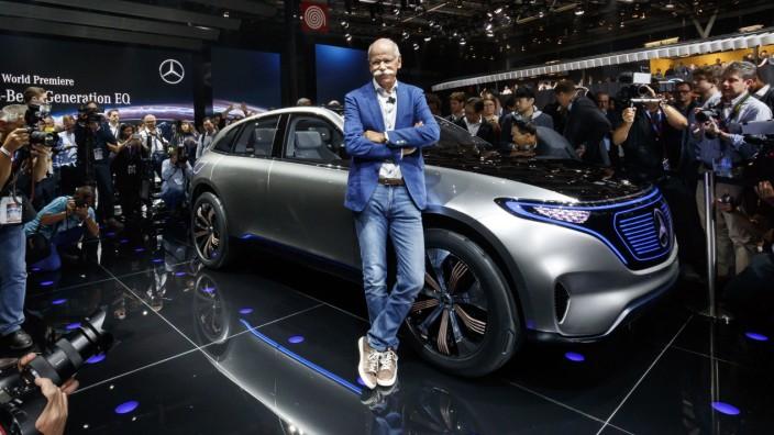 Mercedes-Benz auf dem Pariser Autosalon 2016
