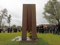 Gedenkstätte für Zugunglück-Opfer in Bad Aibling