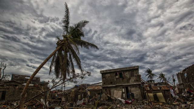 Hurricane Matthew in Jeremie, Haiti