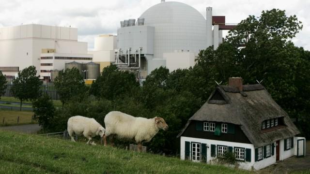 Nuclear Power Plant Brunsbuettel