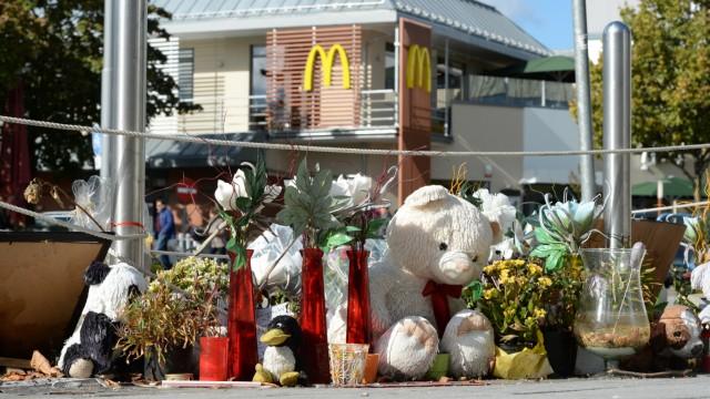 McDonald's am Olympia-Einkaufszentrum wieder geöffnet
