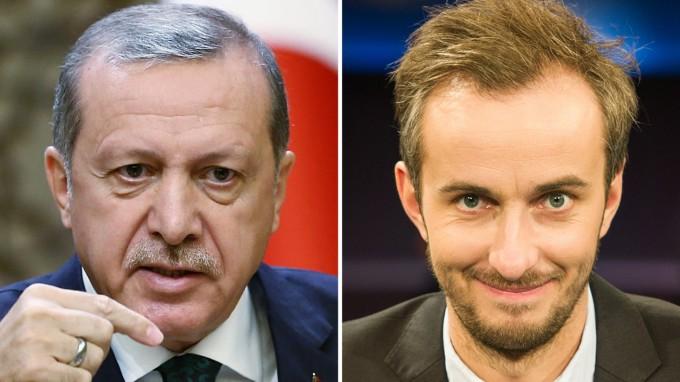 Erdoğan hat Beschwerde gegen die Einstellung des strafrechtlichen Ermittlungsverfahrens gegen Böhmermann eingelegt. (Foto: dpa)