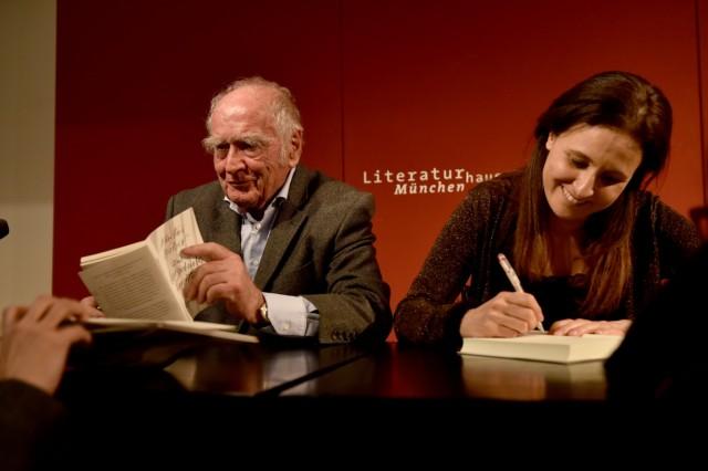 Martin Walser im Literaturhaus München, 2016