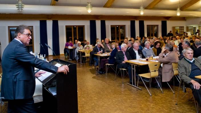 Bürgerversammlung Pliening