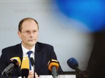 Pressekonferenz in Dresden zur Terror-Festnahme