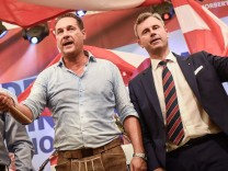 Norbert Hofer's kick-off rally to repeat of the Austrian Presiden
