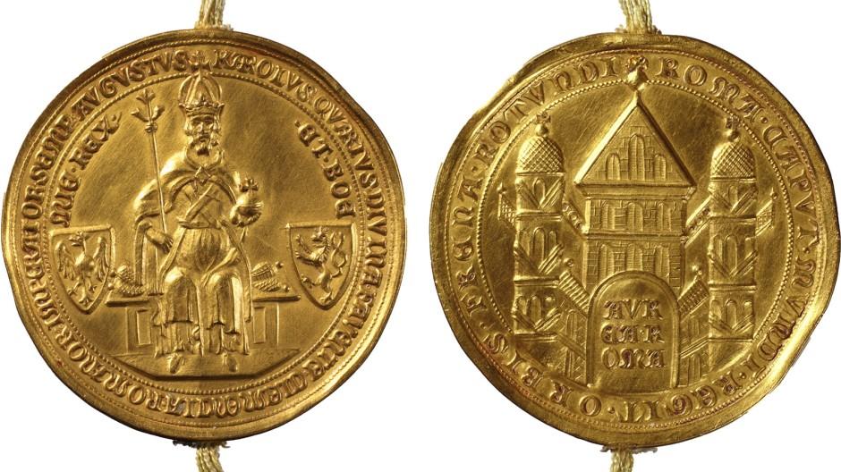 Kombi Siegel der Goldenen Bulle