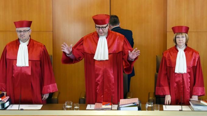 Das Bundesverfassungsgericht entschied über die Klage gegen das Freihandelsabkommen Ceta. (Foto: dpa)