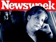 Bundeskanzlerin Angela Merkel auf dem Cover von Newsweek