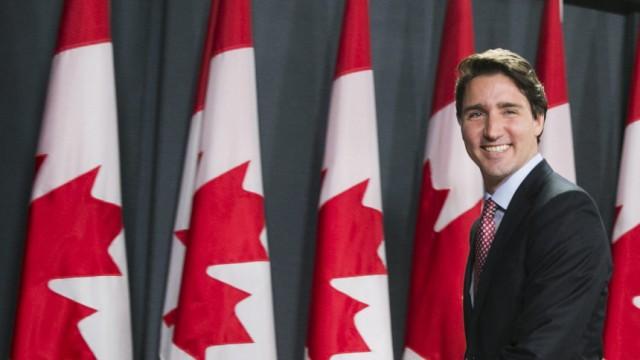 Canadian Prime Minister designate Justin Trudeau press conference