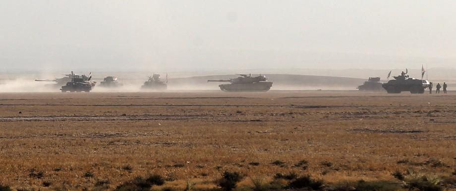 Irak Offensive gegen IS in Irak