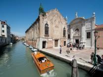 isländischer Pavillon bei der Biennale in Venedig