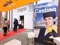 Lufthansa Flugbegleitercasting in Ismaning, 2016