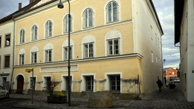 Geburtshaus Adolf Hitler in Braunau am Inn, 2012