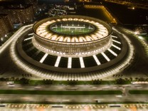 KRASNODAR RUSSIA SEPTEMBER 30 2016 A view of the Krasnodar Stadium The arena has a capacity of