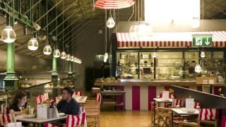 München:  KOSTPROBE Restaurant ADRIATICO in der Schrannenhalle
