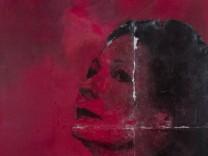 Selbstporträt der Malerin Anja Wins